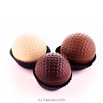 Chocolate Golf Balls 3 Piece Box(GMC)at Kapruka Online forspecialGifts