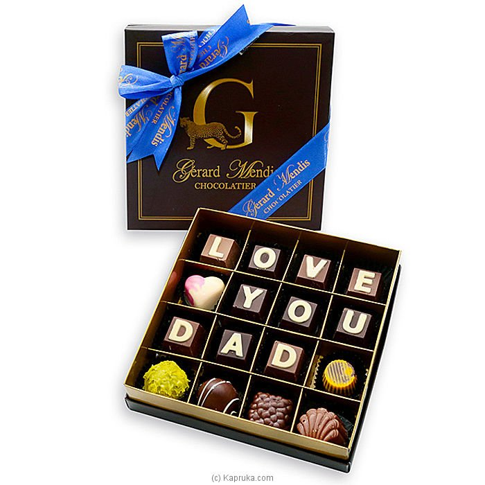 Love You Dad 16 Piece Chocolate Box(GMC) at Kapruka Online for specialGifts