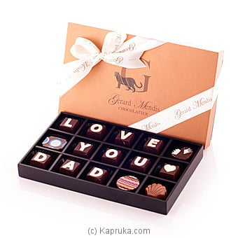 Love You Dad 15 Piece Chocolate Box(GMC) at Kapruka Online for specialGifts