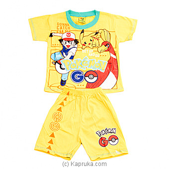 PokeMon Kids Wear at Kapruka Online for specialGifts