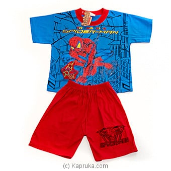 Spider Man Kids Suit (6 Month) at Kapruka Online for specialGifts