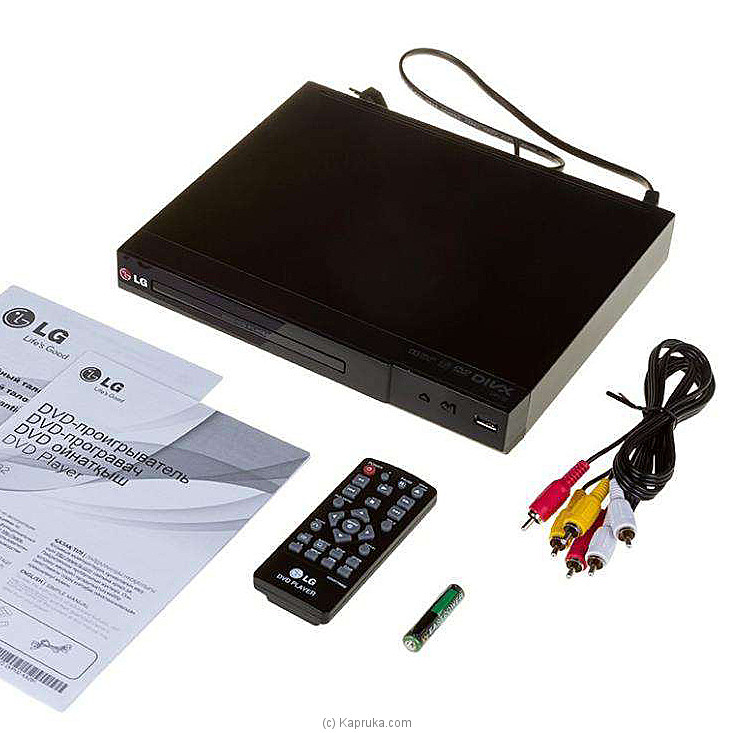 LG`s DP132 Multi-Format DVD Player at Kapruka Online for specialGifts