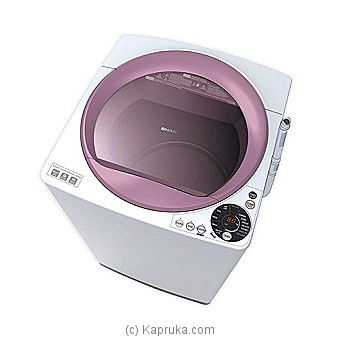 Sharp Full Auto Top Loading Washing Machine 8.5KG(ES-S85EW-P) at Kapruka Online for specialGifts