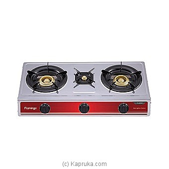 Flamingo 3 Burner Gas Cooker (FL-423GC ) at Kapruka Online for specialGifts