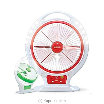 Sanford Rechargeable Table Fan With Light (Sf-962rtf ) at Kapruka Online for specialGifts