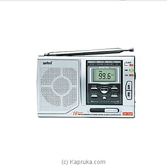 Sanford Portable Radio (Sf-1014pr) at Kapruka Online