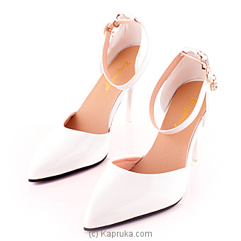 Women`s High Heel- White at Kapruka Online