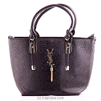 Trendy Black Handbag at Kapruka Online