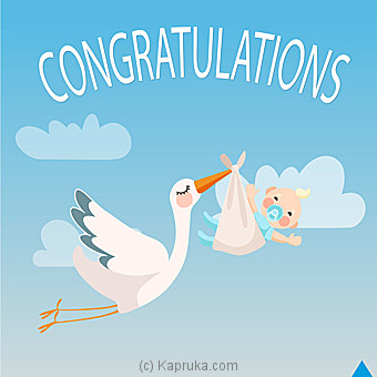 Newborn Card at Kapruka Online for specialGifts