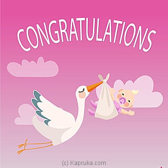 Newborn Greeting Card at Kapruka Online for specialGifts