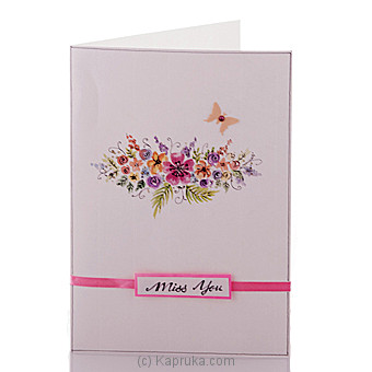 Miss You Card at Kapruka Online for specialGifts