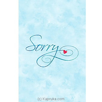 I Am Sorry Card at Kapruka Online for specialGifts