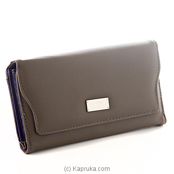 Ladies Casual Brown Wallet at Kapruka Online for specialGifts