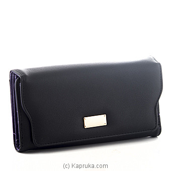 Ladies Casual Black Wallet at Kapruka Online for specialGifts