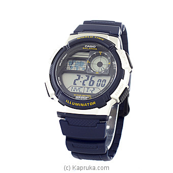 Casio Youth Digital Grey Dial Men`s Watch(D118) at Kapruka Online for specialGifts