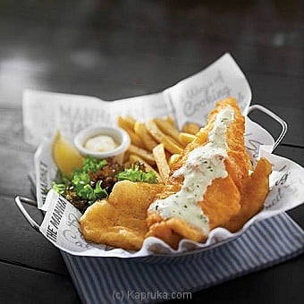 Manhattan Fish N` Chips With Salmon at Kapruka Online for specialGifts