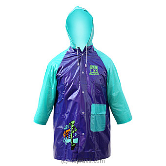 Blue Ben 10 Kiddies Raincoat-at Kapruka Online forspecialGifts