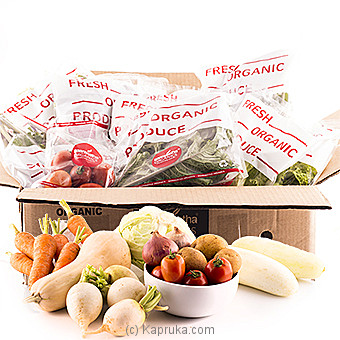 Saraketha Organic Vegetable Hamper  - Large at Kapruka Online for specialGifts