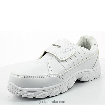 Super Sport White  Single Velco School Shoe - at Kapruka Online