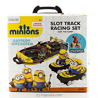 Minions Slot Car Track Racing Track at Kapruka Online for specialGifts