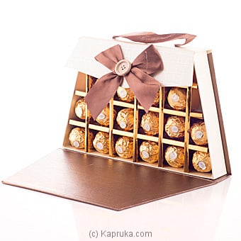 Beautiful You 20 Piece Of Ferrero Chocolate Gift Box at Kapruka Online for specialGifts