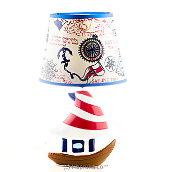 Ceramic Table Lamp Blue at Kapruka Online for specialGifts