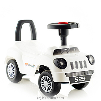 White Baby Jeep at Kapruka Online for specialGifts