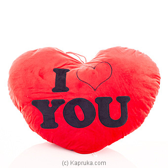 I Love You Cuddle Pillow at Kapruka Online for specialGifts