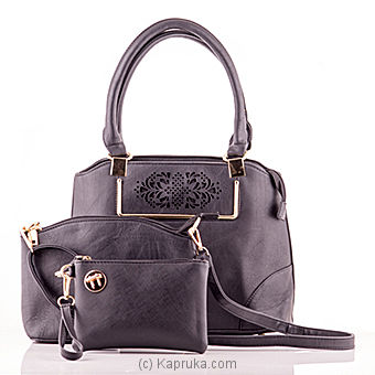 Classic Ladies Handbag - Black at Kapruka Online for specialGifts