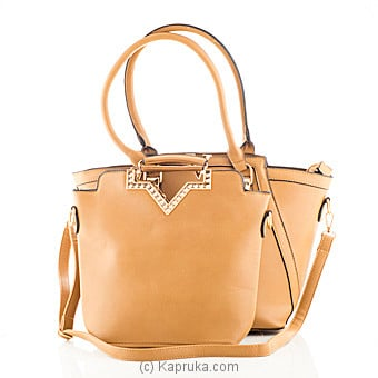 Brown Ladies Handbag at Kapruka Online for specialGifts