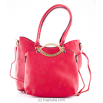 Red Ladies Handbag at Kapruka Online for specialGifts