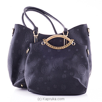 Ladies Premium Handbag set - black at Kapruka Online for specialGifts