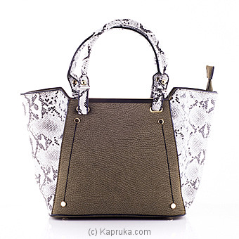 Stylish Snake Print Casual Ladies Handbag at Kapruka Online for specialGifts