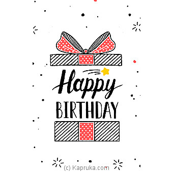 Birthday Greeting Card at Kapruka Online for specialGifts