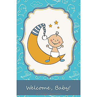 New Born Greeting Card at Kapruka Online for specialGifts