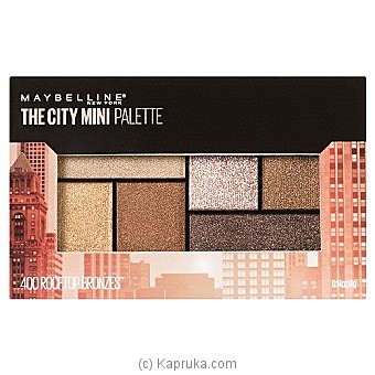 Maybelline The City Mini Palette - Rooftop Bronzes at Kapruka Online for specialGifts