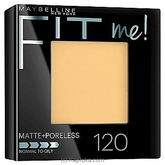 Maybelline Fit Me Face Powder - 120 Classic Ivory at Kapruka Online for specialGifts