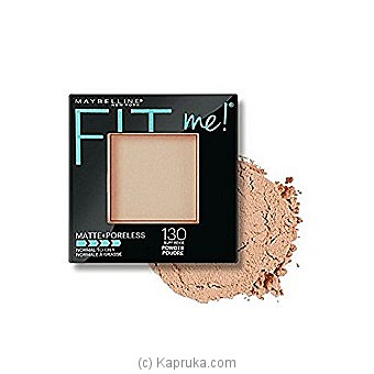Maybelline Fit Me Matte And Poreless Powder - Buff Beige at Kapruka Online for specialGifts