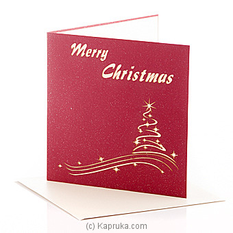 Season Greeting Pop Up Card at Kapruka Online for specialGifts