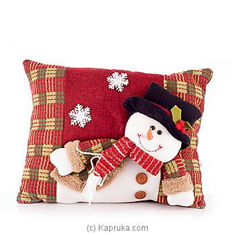 Snowman Cuddle Pillow at Kapruka Online for specialGifts