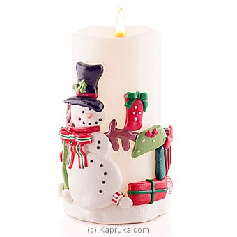 Snowman Led Candle at Kapruka Online for specialGifts