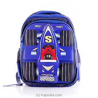 Kids 3D Blue School Bag at Kapruka Online for specialGifts