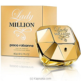 Pacco Rabana Lady Million 80ml at Kapruka Online for specialGifts