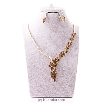 Cubic Zirconia Necklace Set at Kapruka Online for specialGifts