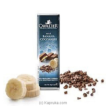 Cavalier Milk Banana Sugar Free Chocolate - 40g at Kapruka Online for specialGifts