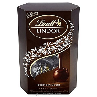 Lindt Lindor Extra Dark Chocolate - 200g at Kapruka Online for specialGifts
