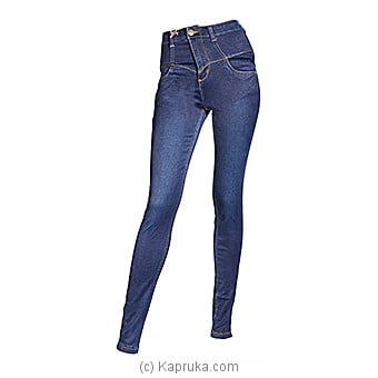LICC Ladie`s Dark Blue High Rise Jeans at Kapruka Online for specialGifts