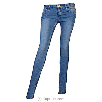 LICC Ladie`s Light Blue Skinny Fit Jeans at Kapruka Online for specialGifts