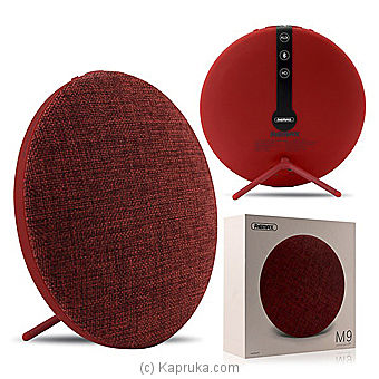 Remax RB-M9 Fabric Desktop Wireless Bluetooth Speaker at Kapruka Online for specialGifts