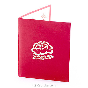 3D Popup Greeting Card at Kapruka Online for specialGifts